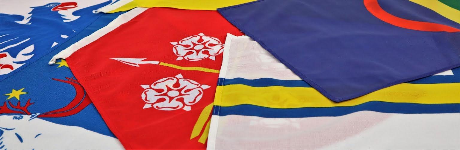 Landskaps-& regionsflaggor mm.