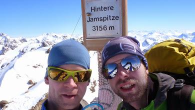 Photo: On top of Hintere Jamspitze