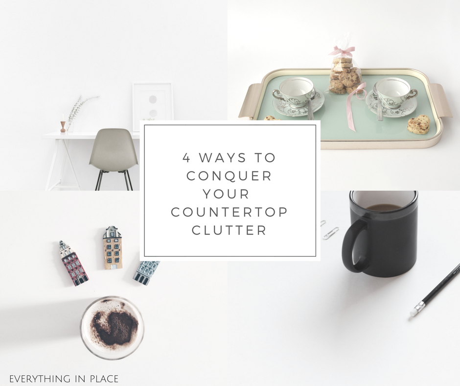 4 Ways To Conquer Your Countertop