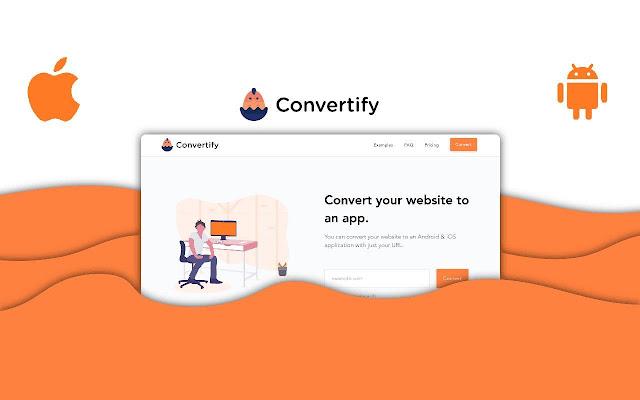 Convertify: Convert website to app