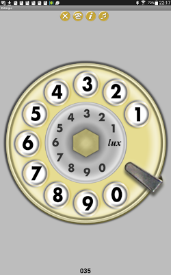 Bigrigio - Telefono anni 70 - screenshot