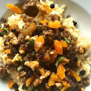 South African Bobotie-Spiced Risotto.