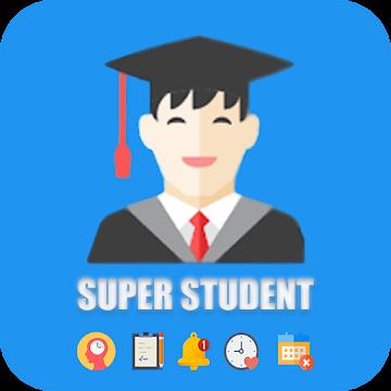 Super student - الجدول الدراسي-مذكرات-تنظيم الوقت