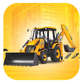 Backhoe Loader Working Machine