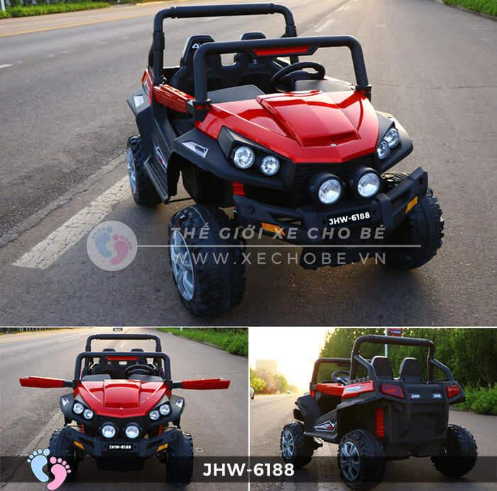 Xe ô tô điện cho bé 4 động cơ JHW-6188 6