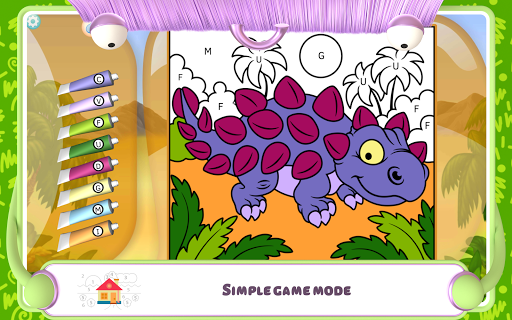 Paint by Numbers - Dinosaurs 2.2 screenshots 11