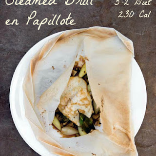 Eat Well & Stay Slim & Recipe for Steamed Brill en Papillote