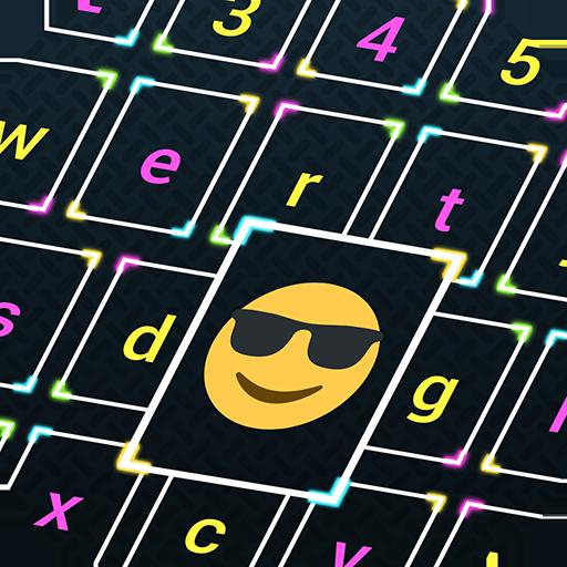 Neon Glow Keyboard Changer