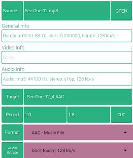 Cacao Encoder Mobile - náhled