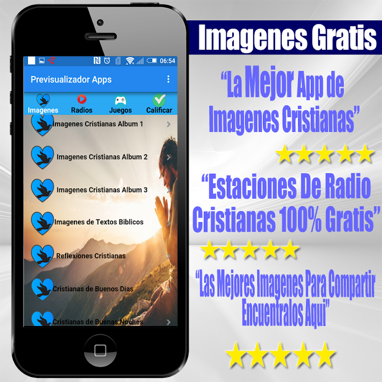 Imagenes Cristianas Gratis Con Frases Android приложения