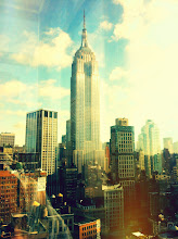 Photo: Empire State Building. Awesome view from our building.