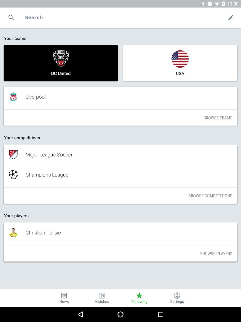 Onefootball - Soccer Scores Screenshot 11