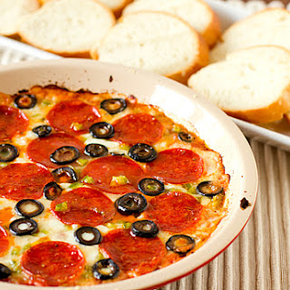 Pizza Dip Without Sour Cream Recipes.