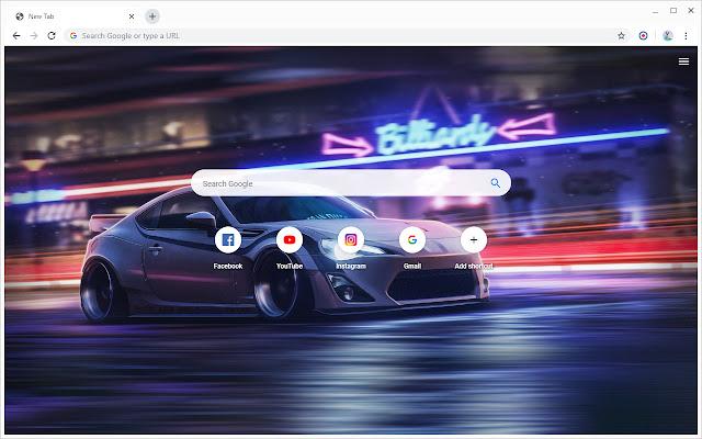 New Tab - Subaru