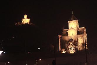 Photo: Tbilisio bažnyčios.   Temples in Tbilisi.