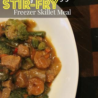 Freezer Skillet Meal