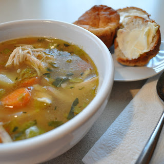 Quick & Easy Chicken & Vegetable Soup