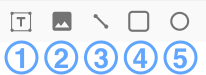 Design components toolbar icons