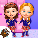 Sweet Baby Girl Cleanup 6 - School Cleaning Game icon
