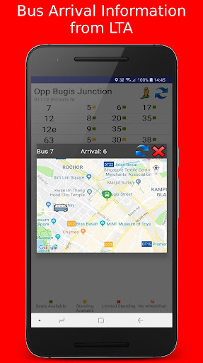 SG Buses - SG Bus Arrivals & Routes  screenshots 5
