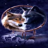 Wolves Dreamcatcher LWP