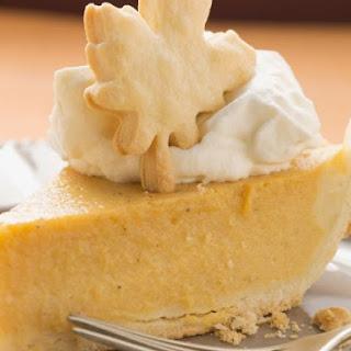 Creamy Autumn Tart.