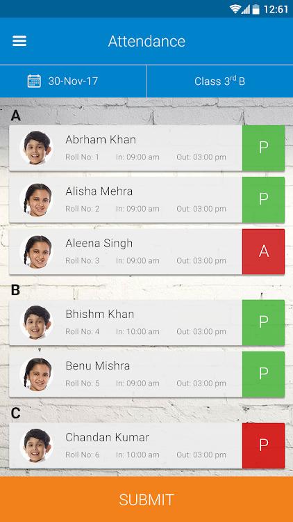 CarryCulum:An automated app for Teachers & Parents