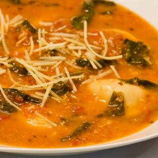 Tortellini Basil Soup