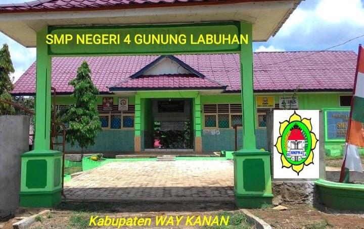 SMP N 04 Gunung Labuhan Siap Menerima Peserta Didik Baru Tahun Ajaran 2021/2020