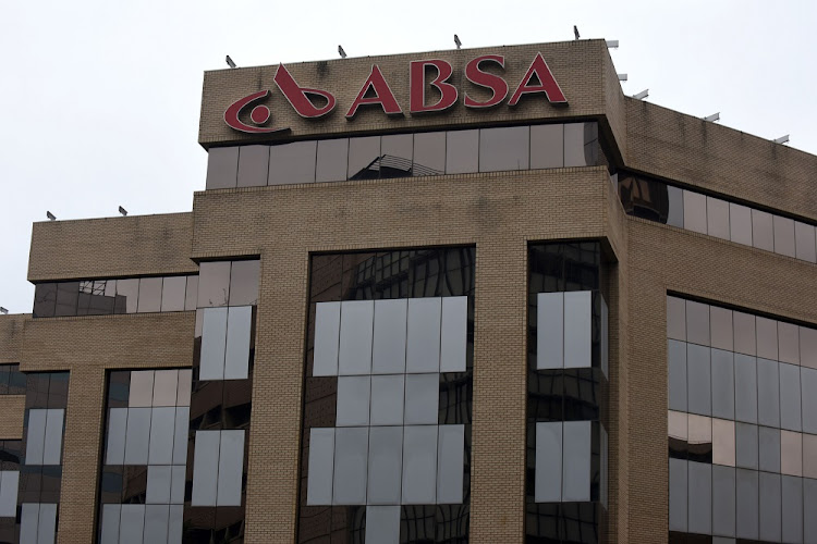 ABSA Bank head office in Johannesburg CBD.