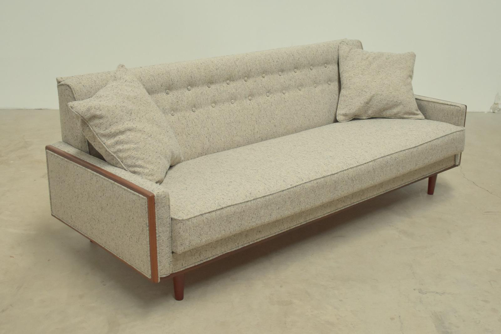 British mid century sofabed