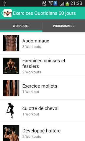 android Exercices Quotidiens 90 jours Screenshot 0