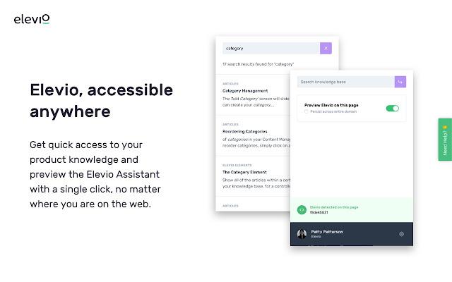 Elevio Chrome Extension