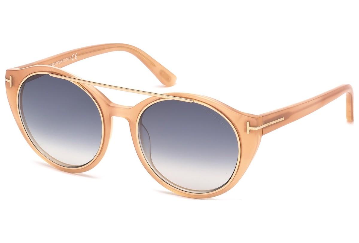d58b0eec3e Buy Tom Ford Joan FT0383 C52 74B (pink  other   gradient smoke) Sunglasses