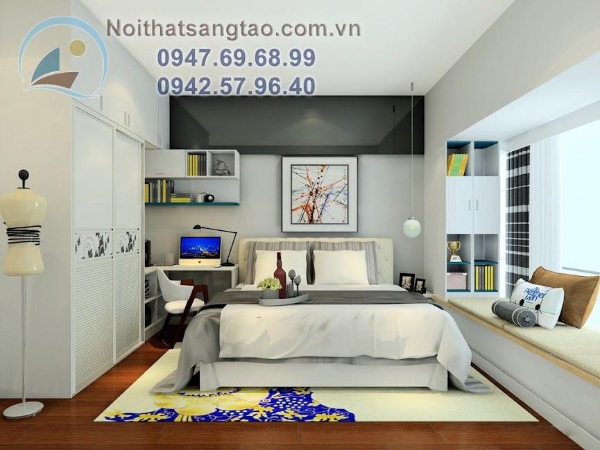 thiết kế nội thất chung cư trẻ trung