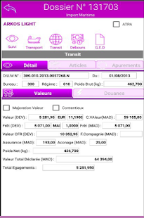 WinApp Logistics Client - náhled