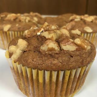 Healthy Banana Bread Muffins