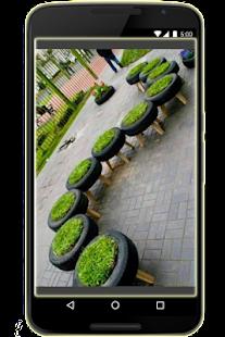 Použité recyklace pneumatik - náhled