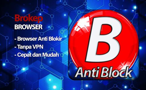 Brokep Browser Anti Blokir - Proxy Browser 9.7.0 screenshots 1