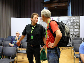 Photo: ICPS Conference in Leiden (NL) 2010. From the left: ?, Dr. Joachim Nerz and Dr. Peter Harbarth
