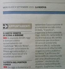 Photo: la Nuova di Venezia e Mestre (09.9.2015)