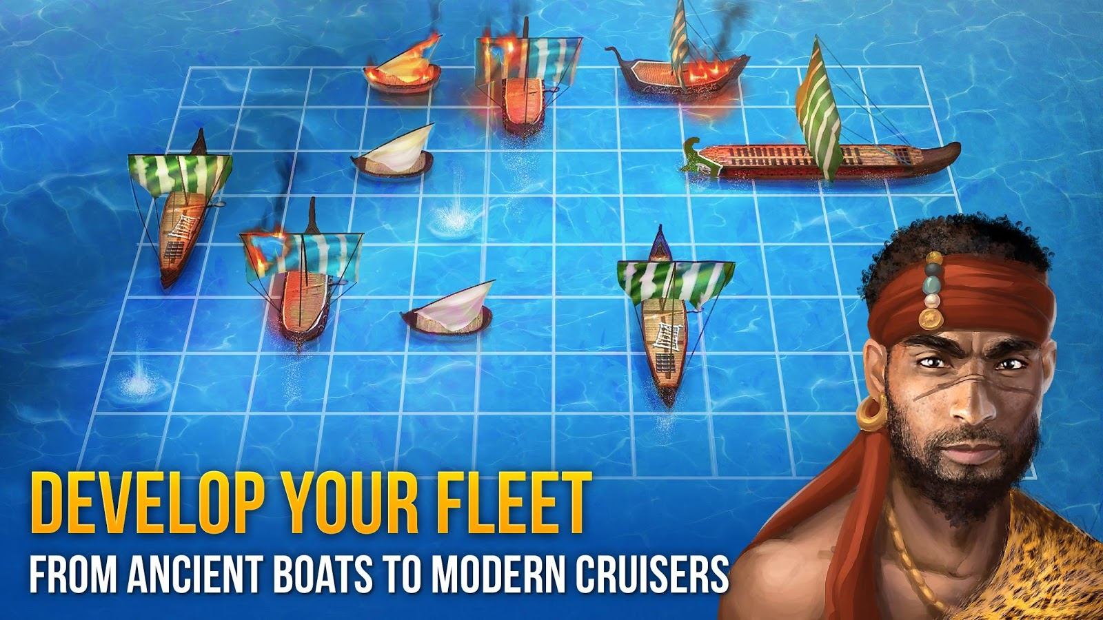 Battle Sea 3D - Naval Fight- screenshot