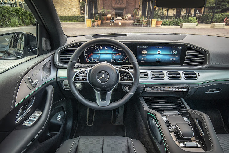 Cabin follows Merc's current high-tech theme, and includes a Siri-like voice assistant. Picture: SUPPLIED