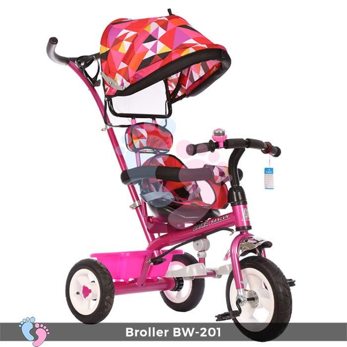 Xe đạp đẩy 3 bánh Broller XD3-201 7