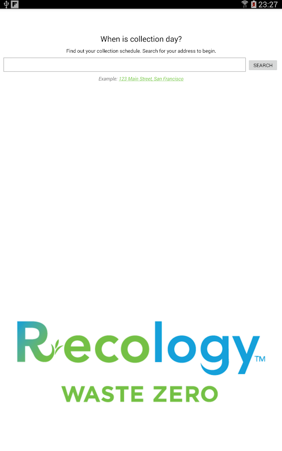 Recology- screenshot