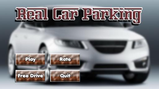 レアル駐車場とドライビング