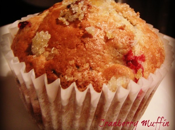 CRANBERRY MUFFINS: I used Martha White's Blueberry Cheese Cake muffin mix and 1/2 of...