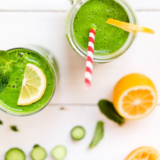 The Refreshing Green Drink.