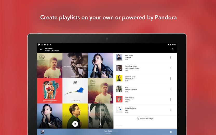 Screenshot 10 for Pandora's Android app'