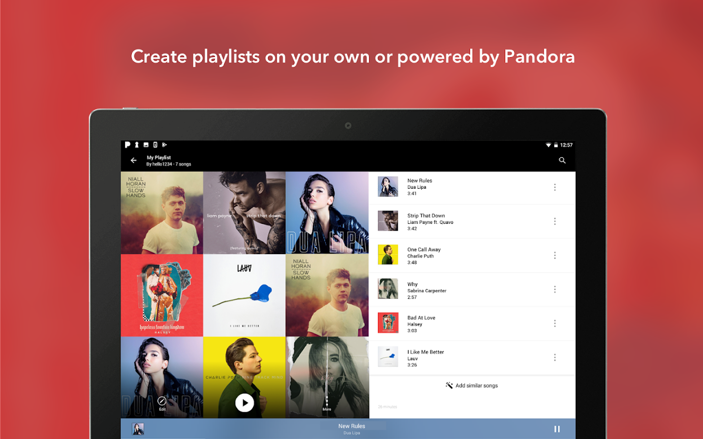 Pandora Music- screenshot